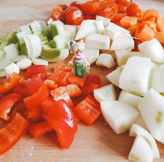 Gekörnte Gemüsebouillon Gemüsebrühe selber machen